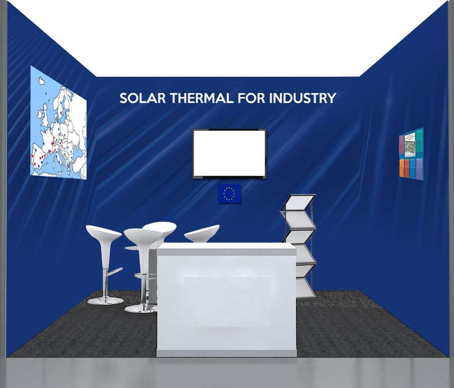 Simple Exhibition Stand : Entry #44 by minadeali for solar energy exhibition stand design