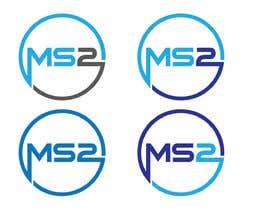 #88 cho MS2 logo design bởi redbluelogo2017