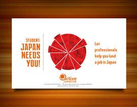 #10 untuk We need a poster design for a recruitment firm for foreign students in Universities in Japan (English) oleh elielfree