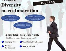 #3 untuk We need a poster design for a recruitment firm for foreign students in Universities in Japan (English) oleh adminenc