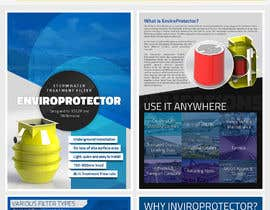 #16 for Design a Brochure for EnviroProtector by XANIARTS