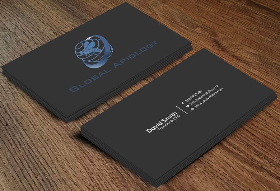 Entry #94 by Neamotullah for Global Business Cards | Freelancer