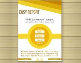#12 for Design a Brochure (Easy Report) by izayafurqan