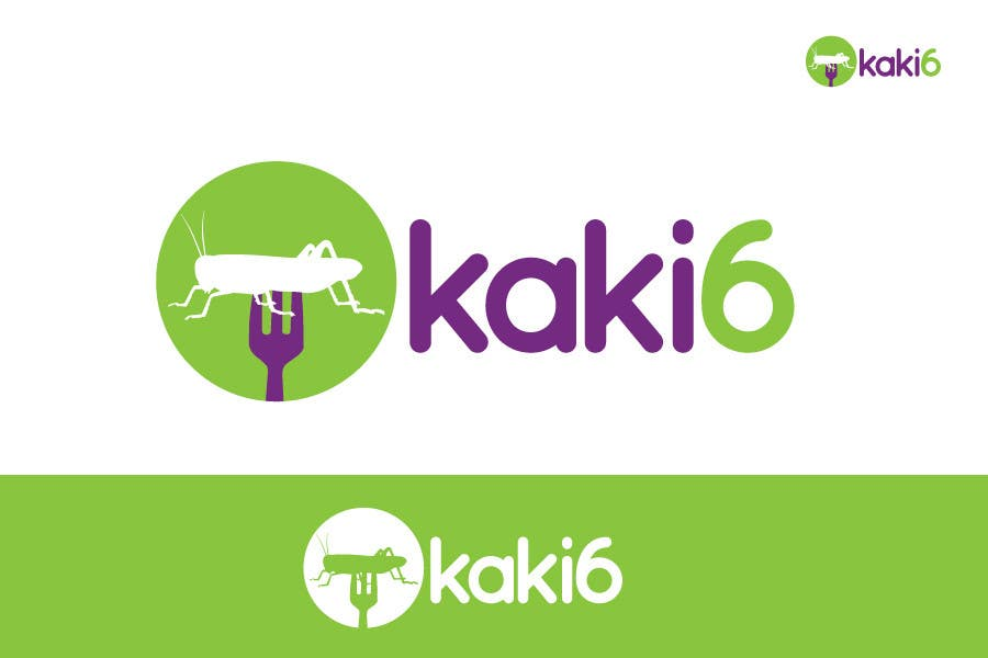 Contest Entry #                                        20                                      for                                         design logo for kaki6.com. an edible insects website