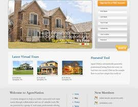 #38 para ReDesign for AgentNation.com - Interactive, social, marketing site for Real Estate Pros! por Macroads