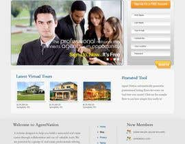 #32 para ReDesign for AgentNation.com - Interactive, social, marketing site for Real Estate Pros! por Macroads