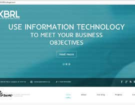 #7 cho Website design for IT data product and consulting bởi WinonaSV