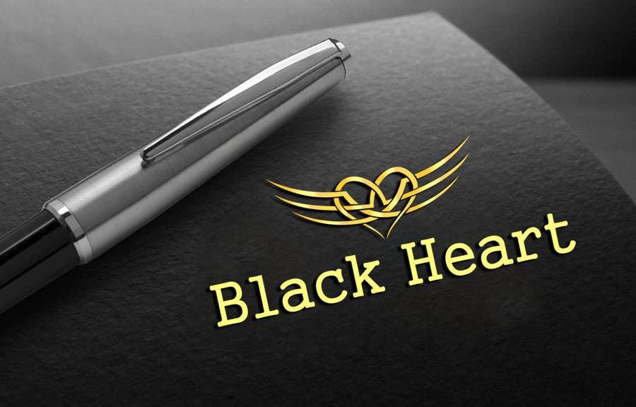 Konkurrenceindlæg #                                        133                                      for                                         Design a Logo for a Black Heart