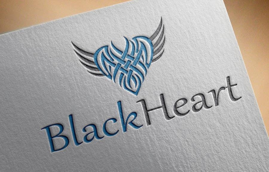 Konkurrenceindlæg #                                        132                                      for                                         Design a Logo for a Black Heart