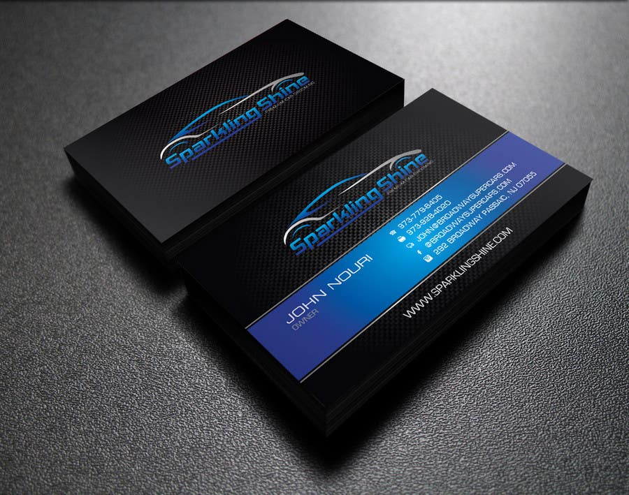 Design some business cards for my car wash company for Car wash business cards