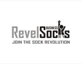 #43 for Logo Design for Revel Socks by astica