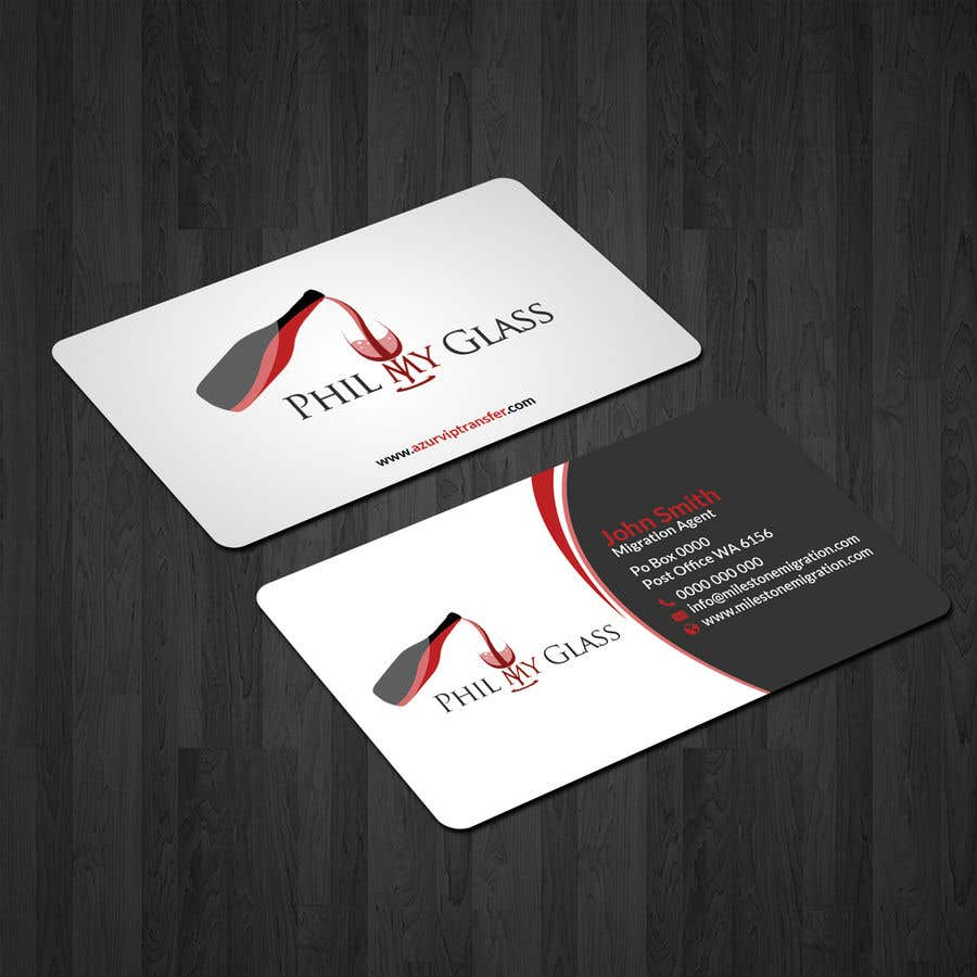 Entry 3 by papri802030 for wine business card back design freelancer wine business card back design colourmoves