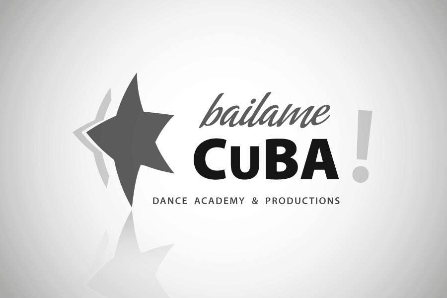 Bài tham dự cuộc thi #180 cho Logo Design for BailameCuba Dance Academy and Productions