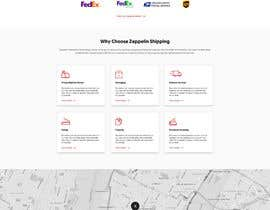 #159 for Website Design for Postal Shipping Company af geniedesignssl