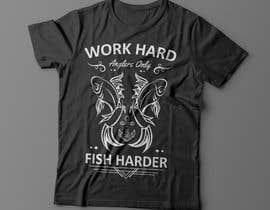 Nro 19 kilpailuun Design a Fishing T-Shirt with a Vintage Style käyttäjältä fesiiqbal