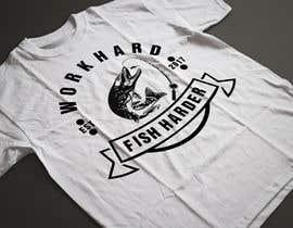 Nro 27 kilpailuun Design a Fishing T-Shirt with a Vintage Style käyttäjältä mdakirulislam