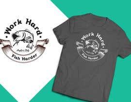 Nro 25 kilpailuun Design a Fishing T-Shirt with a Vintage Style käyttäjältä Tonmoydedesigner