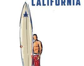 #9 for Edit an existing T-Shirt Design: Santa Cruz, California by mustaksany