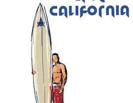 #10 for Edit an existing T-Shirt Design: Santa Cruz, California by mustaksany