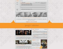 nº 13 pour Website Design for guilde agora par hipnotyka