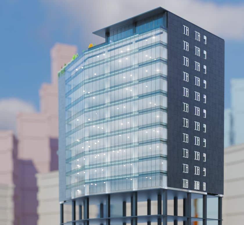 Entry 41 By Archial For Office Building Exterior Facade Design