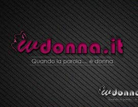 nº 82 pour Logo Design for www.wdonna.it par kreativegraphic