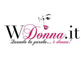 #78 para Logo Design for www.wdonna.it por stanbaker
