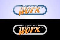 Logo Design for Supplement Worx için Graphic Design195 No.lu Yarışma Girdisi