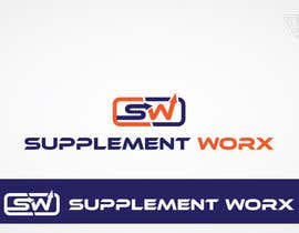 #65 untuk Logo Design for Supplement Worx oleh Ferrignoadv