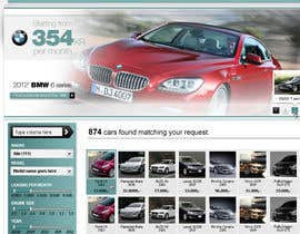 #51 para Website Design for Bavaria KBH (Car Leasing + Finansing website) por solidussnake