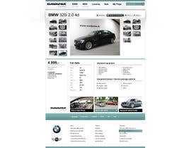 #61 para Website Design for Bavaria KBH (Car Leasing + Finansing website) por solidussnake