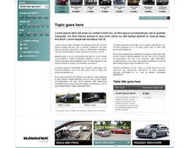 #66 para Website Design for Bavaria KBH (Car Leasing + Finansing website) por solidussnake