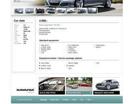 #44 para Website Design for Bavaria KBH (Car Leasing + Finansing website) por solidussnake