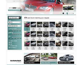 #50 untuk Website Design for Bavaria KBH (Car Leasing + Finansing website) oleh solidussnake