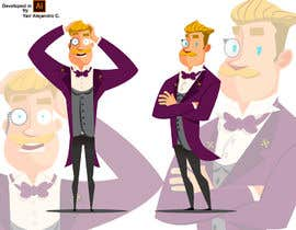 #13 cho Design a Cartoon Mascot inspired by the movie Grand Budapest Hotel bởi TEHNORIENT