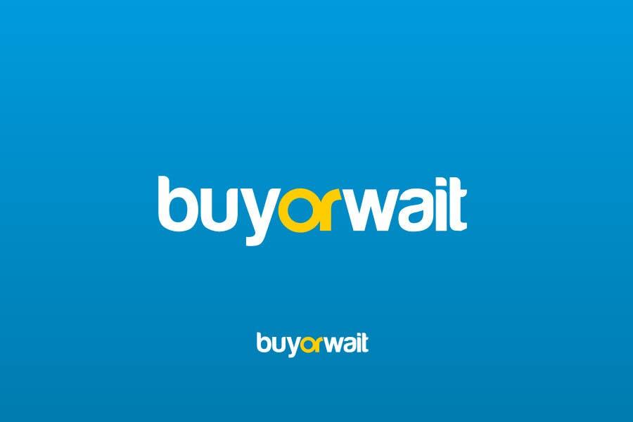 #775 for Logo Design for BuyOrWait by dimitarstoykov