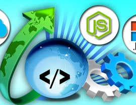#61 untuk Design a Banner for a software technology web page oleh Tukai9836