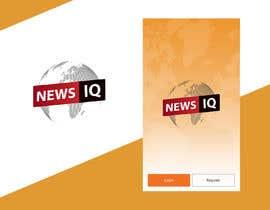 Nro 7 kilpailuun Design logo and splash/loading screen for News App käyttäjältä solankisaikat