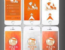 Nro 5 kilpailuun Design logo and splash/loading screen for News App käyttäjältä renzog27