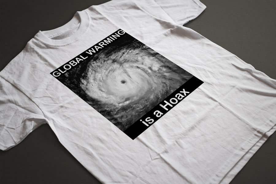 Bài tham dự cuộc thi #30 cho Design a T-Shirt: Global Warming is a Hoax
