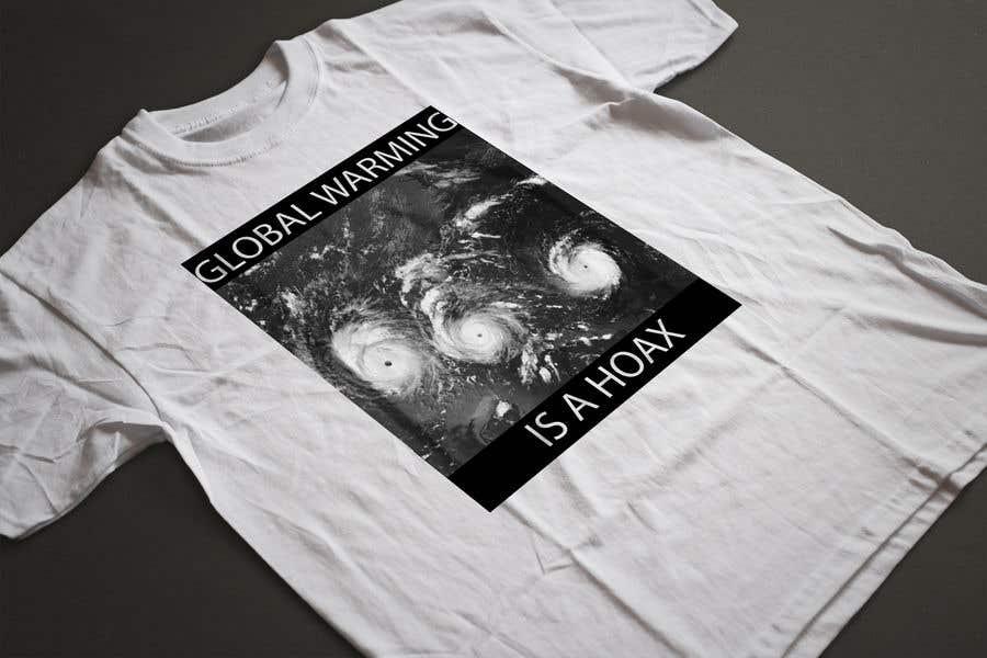 Bài tham dự cuộc thi #31 cho Design a T-Shirt: Global Warming is a Hoax