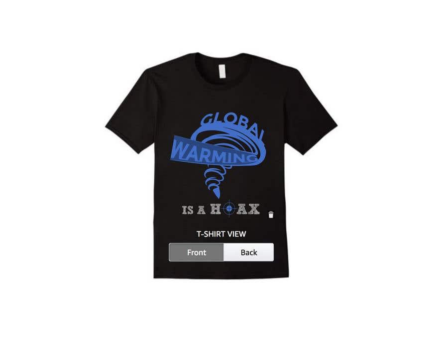 Bài tham dự cuộc thi #1 cho Design a T-Shirt: Global Warming is a Hoax