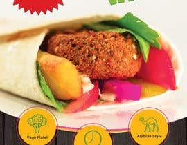 #10 for Falafel Wrap. by KhadijaJahan