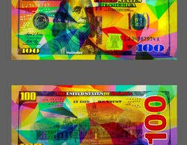 #44 for Create High Quality and Very Colorful Artwork of a $100 Dollar US Bill af banhthesanh