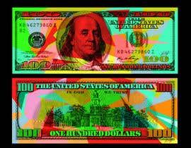 #25 for Create High Quality and Very Colorful Artwork of a $100 Dollar US Bill af danielcflores