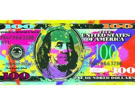 #2 for Create High Quality and Very Colorful Artwork of a $100 Dollar US Bill af DianaE