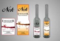 Graphic Design Kilpailutyö #90 kilpailuun Graphic Design- Label for fruit liqueur.