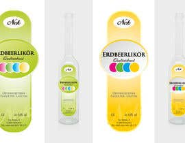 #101 untuk Graphic Design- Label for fruit liqueur. oleh BuDesign