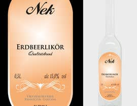 #103 untuk Graphic Design- Label for fruit liqueur. oleh BuDesign