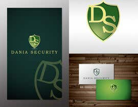 nº 199 pour Logo Design for Dania Security par caesar88caesar